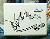 San Francisco City Skyline Sticker Decal Laptop Decal iPad