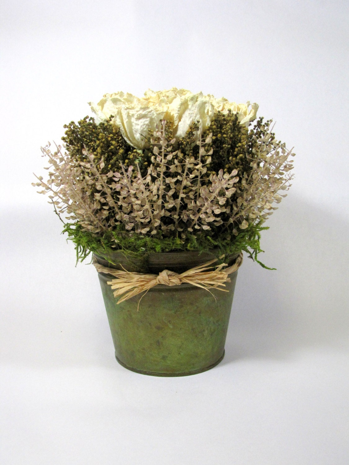 Dried Floral Arrangement French Country Flowers