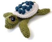 Amigurumi Sea Turtle Crochet Pattern PDF Instant Download - Ernest