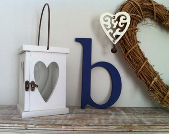 Handpainted Wooden Wall Letter - b - New Times Roman - lowercase - various colours and finishes