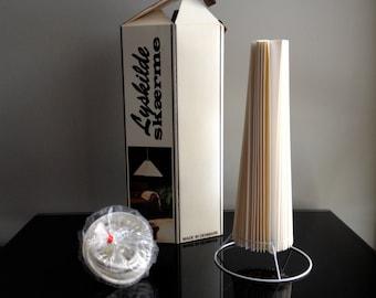 Lyskilde Skaerme Denmark Pleat Lamp Hanging Shade Kit
