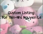 Custom Listing for Yen-Nhi Nguyen Le