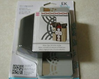 On Sale ---  2 in 1 STRIPED ARCHES Edge Punch by EK Success Punch