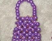 Miniature Bead Purse (Choice of Color)