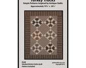 REDUCED!  Turkey Tracks Petit Quilt Pattern