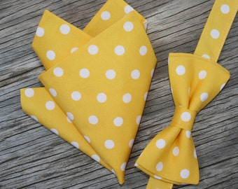 Boys Tie and Matching Pocket Square