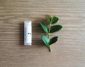 Lemongrass Mint Lip Balm, Beeswax, Shea Butter, Unisex Lip Balm, Summer Lip Butter