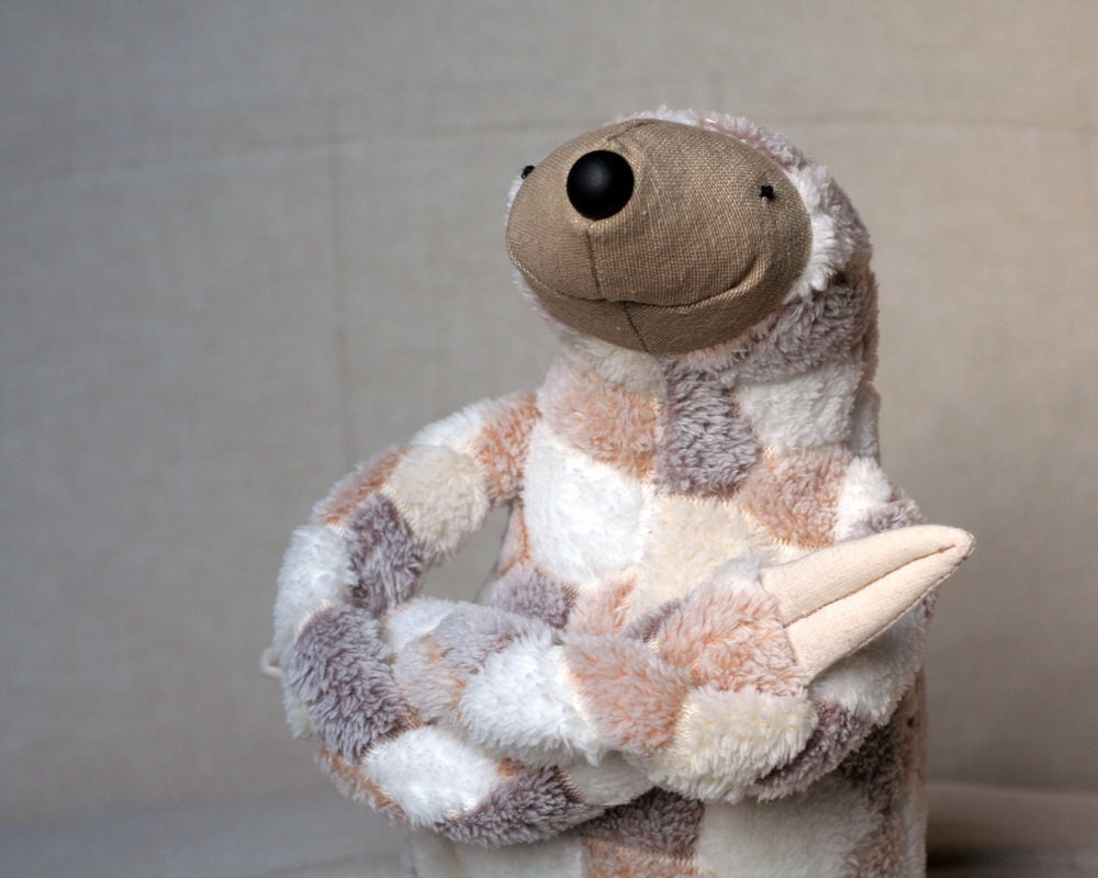 Lazy Sloth, stuffed animal toy for children