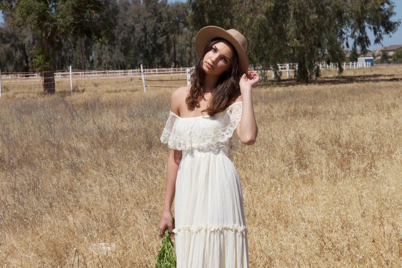 f The Shoulder Ivory Vintage Wedding Dresses lace Lacey