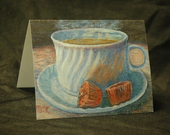 Coffee-Theme Note Cards