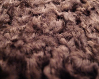 antique lace trim in chenille velvet made by hand