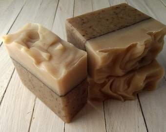 Banana Bread Soap - Handmade All Natural Cold Process Soap with Cocoa Butter