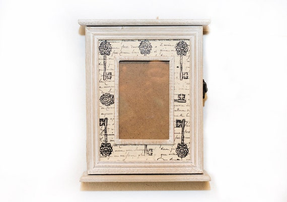 wooden key holder cabinet 2