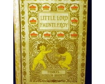 Antique Book Little Lord Fauntleroy Frances Hodgson Burnett  1906