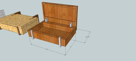 Custom order for Jason Modern Wooden Jewelry Box