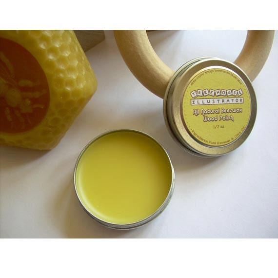 Beeswax Wood Polish All Natural 1 2 Oz Organic Wax Oil