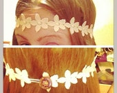 Hippie Boho Flower Headband