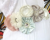 Maternity sash: Pastel Colours Sash