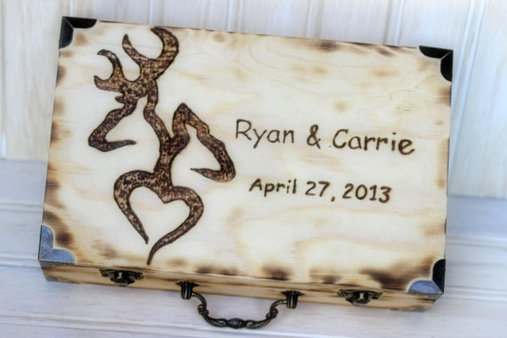Guest Book ALTERNATIVE FOR 150 GUEST Rustic Wedding Well Wishes Book Box