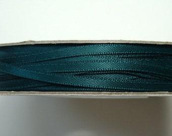"1/8"" Satin Ribbon - Hunter Green - Whole Spool - 100 yds"