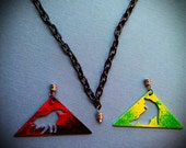 Wolf Prism Interchangeable Necklace
