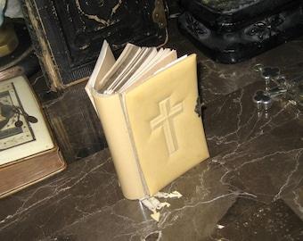 Antique Celluloid German Bible 1800's