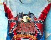 Altered Lynyrd Skynyrd Tie Dye Tee