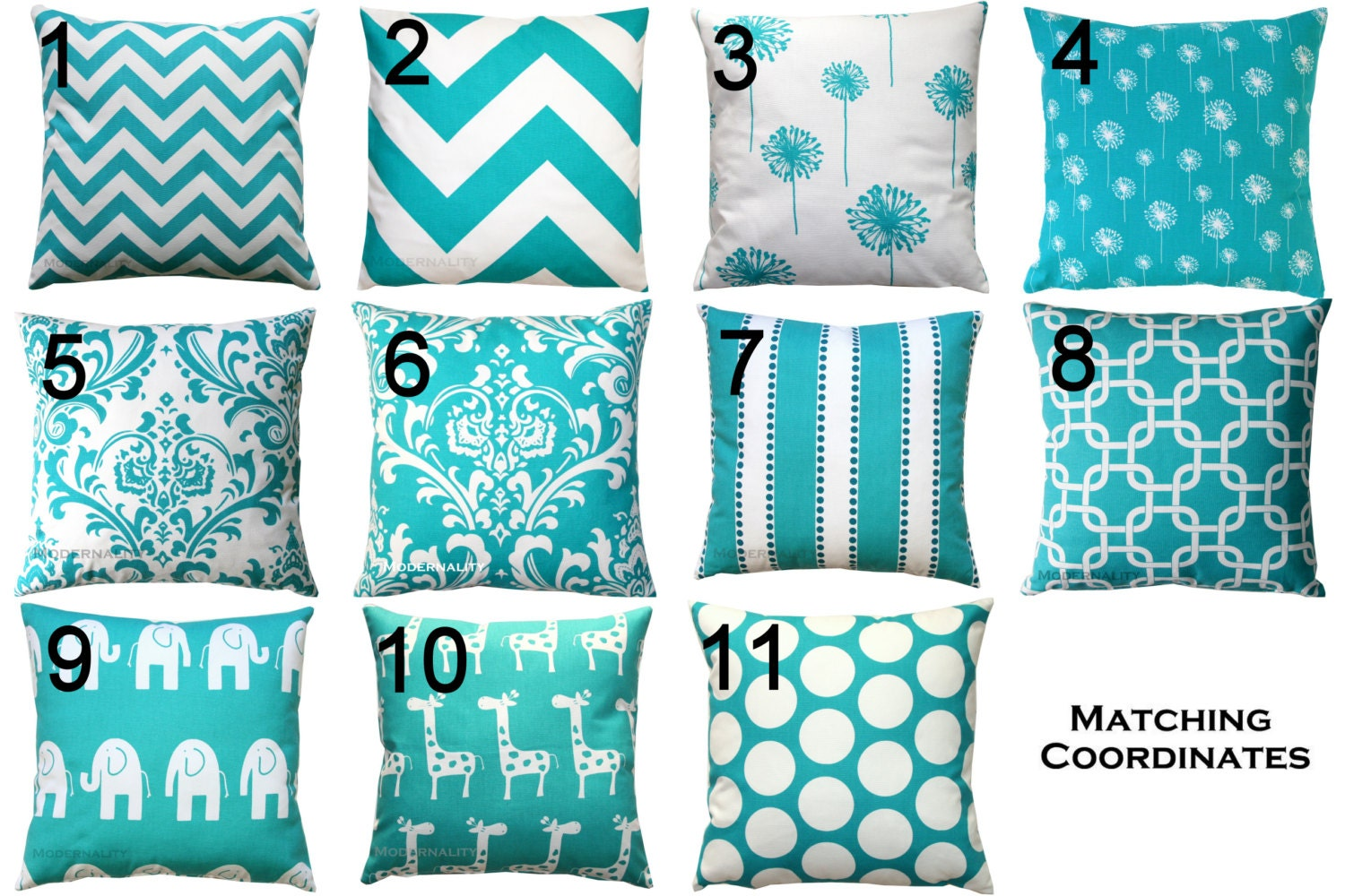 Popular items for turquoise pillows on Etsy