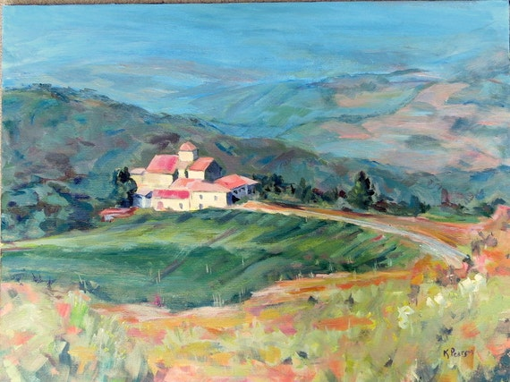 Acrylic Painting Landscape Tutorial Italian Paintings