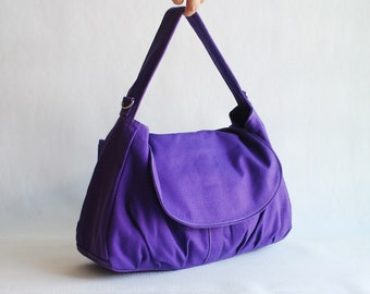Messenger Bag - Sale SALE SALE - Purple, Diaper Bag, Hobo Bag, School Bag, Women, Gift For Her, Cross Body Bag, College bag  40% OFF -