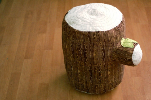 Large Tree Stump Cushion- MADE TO ORDER