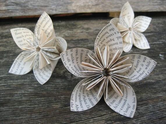 hnliche artikel wie weihnachts tisch dekoration origami. Black Bedroom Furniture Sets. Home Design Ideas