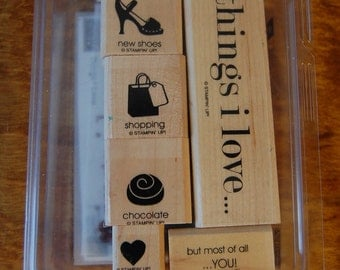 Things I Love- Retired - Stampin Up Stamp Set