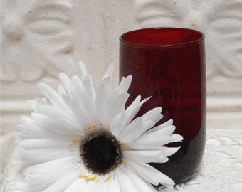 Royal Red Ruby Tumbler