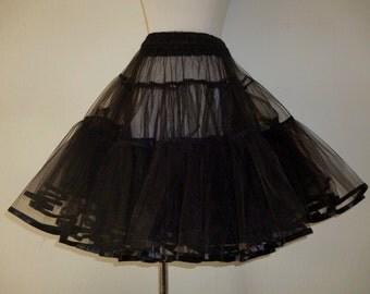 Petticoat Underskirt Big Volume- in Black