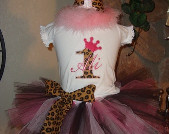 Birthday TUTU set with Birthday Hat