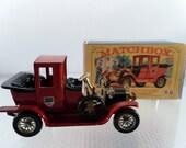 Vintage 1962 Matchbox Lesney 1912 Packard Landaulet.  No. Y11 In Original Box