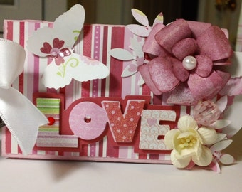 OOAK Lovely Mini Album - Valentines