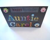 Custom Order for Patricia-set of 3 Birthday cards
