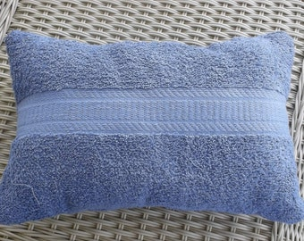Spa pillow with suction cups.