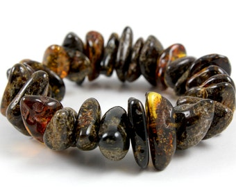Natural Baltic Amber Bracelet Cristmas gift