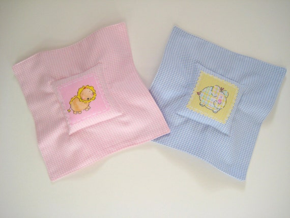 Tooth Fairy Pillow - Pink or Blue, Tooth Keepsake Pillow