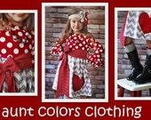 Heart Dress girls size