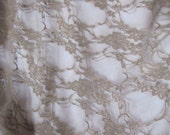 CLEARANCE - Taupe Stretch Newborn Floral Wrap Photo Prop