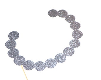 Photo Booth Props - Diamond Necklace - Weddings - GLITTER Photobooth Props