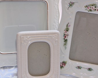 Porcelain Picture Frame Collection