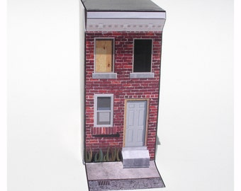 The Kensington - Papercraft crashpad