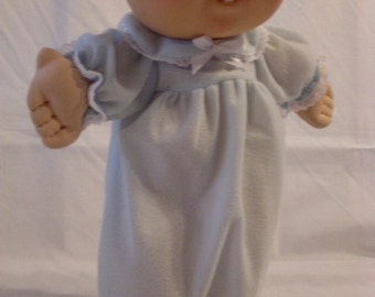"""14"""" Baby Cabbage Patch Blue Nightgown"""