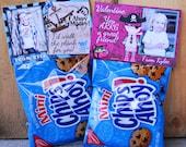 Printable Custom Photo Valentine Treat Bag Topper - Pirate Boy or Girl