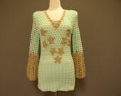 Elegant and beautiful crochet sweater
